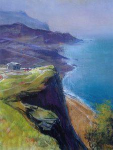 Adilov Alim: Cabo Girao (021) 40 x 30 (olaj,vászon) 210€