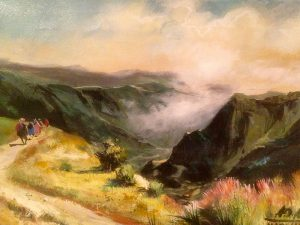 Adilov Alim: Lights of Madeira (a080) 30 x 40 (oil,canvas) 210€